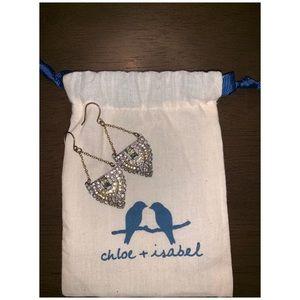 Chloe + Isabel Art Deco Trapeze Earrings